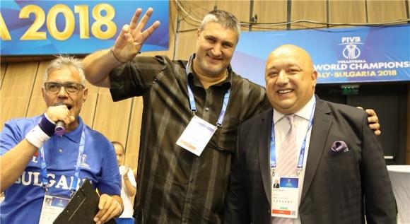 Любо Ганев и кметът Пламен Стоилов откриват Световното по волейбол в Русе