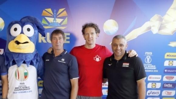 Стефан Антига: Поздравявам Русе! Тук има прекрасни условия за волейбол (видео)