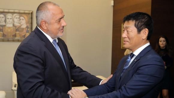 Бойко Борисов се срещна с президента на световната гимнастика