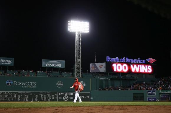 Бостън е шестият най-бърз отбор със 100 победи в МЛБ (видео)