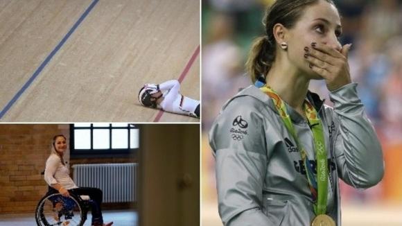 Олимпийска шампионка разплака света: Знам, че никога повече няма да мога да ходя