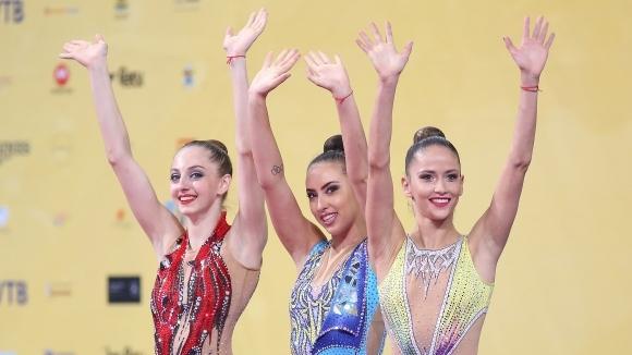 Първи медал за българските гимнастички на Световното в София