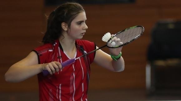 Мария Делчева е на 1/4-финал на Европейското по бадминтон