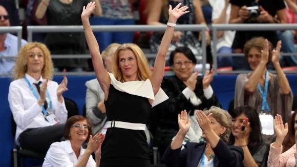 """Всички наши световни шампионки бяха представени на публиката в """"Арена Армеец"""""""