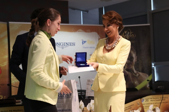 Илиана Раева беше гост на италианската телевизия