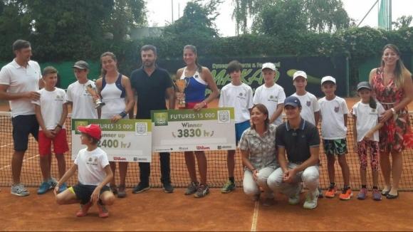 Румънка спечели титлата във Варна
