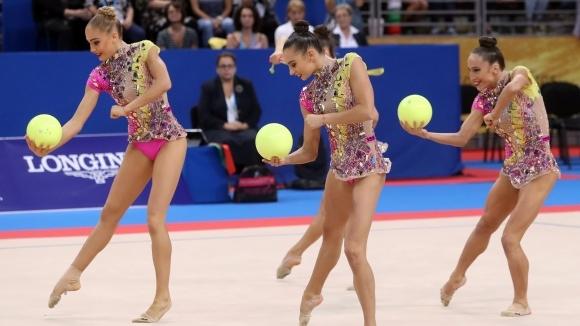 Отхвърлиха контестация за оценката на топка и въжета на българския ансамбъл