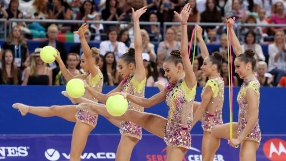 Президентът официален гост на световното първенство по художествена гимнастика