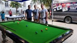 Безплатни уроци по снукър във Враца (видео)