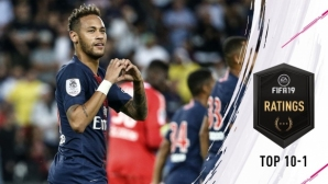 Голяма изненада: За пръв път двама са с най-високи оценки във FIFA 19