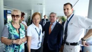 Томас Бах очарован от организацията на Световното първенство по гребане