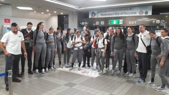 Националките пристигнаха в Япония