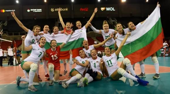 Волейболистките на България загряха за Световното с победа над