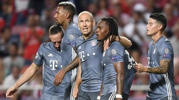 Байерн (Мюнхен) е страшилище в първите си мачове от ШЛ