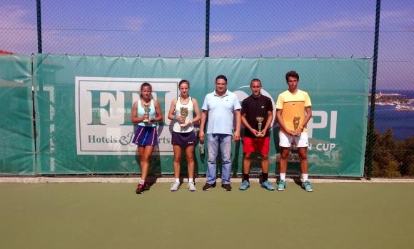 Борисов и Пеева станаха шампиони на Държавния турнир до 18 години