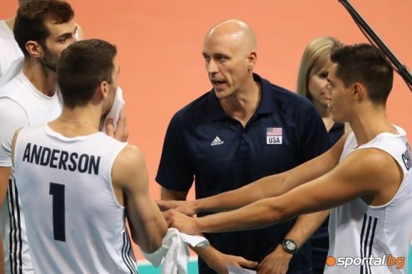 Джон Спероу: България излезе и игра страхотно в началото, но бяхме готови