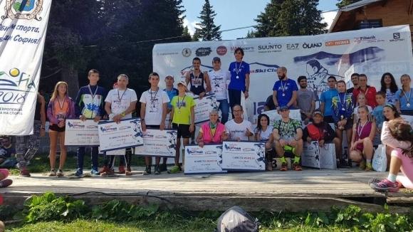 Кристина Иванова спечели с рекорд надпреварата при жените в петото...