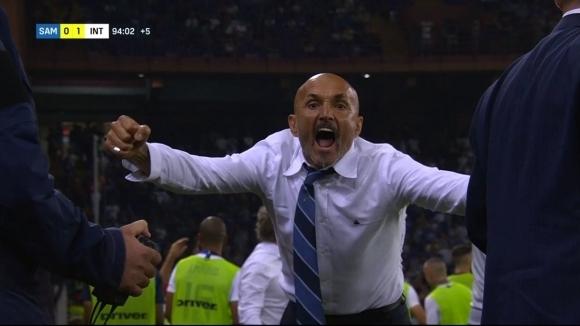 След Сампдория - Интер: Трите гола са отменени правилно, Спалети не трябва да бъде изгонен