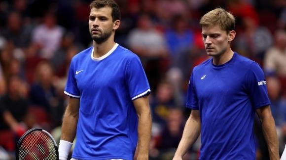 Без Григор и с двойна порция Федерер в ден 3 на Laver Cup
