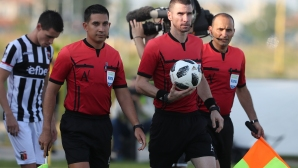 Георги Кабаков ще ръководи мач от започващата групова фаза в Лига Европа