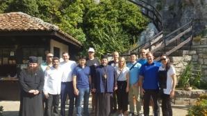Официалните лица на световното в Русе се докоснаха до българската история
