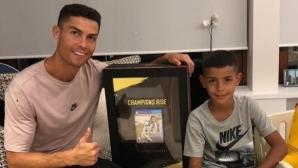 CR7: Кристиано-младши ми казва, че ще стане по-добър от мен… ще му бъде трудно
