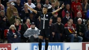 Мбапе с постижение в Шампионската лига