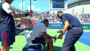 Наказаха съдията, надъхал Кирьос за обрат в US Open