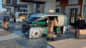 Вижте Renault EZ-PRO: роботизираният автомобил за куриерски услуги
