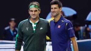 """Федерер прави двойка с Джокович на """"Лейвър къп"""""""