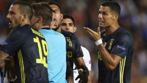 Оптимизъм в Ювентус относно наказанието на Роналдо