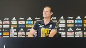 Алегри: Роналдо трябва да се забавлява, Дибала ще играе срещу Фрозиноне