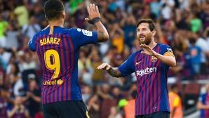 Барселона е с най-много чужденци в цяла Ла Лига