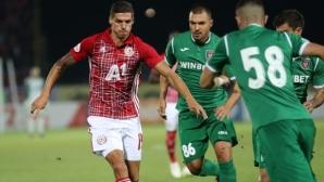 Ботев (Враца) - ЦСКА-София 0:1 след уникална глупост на домакинския страж и автогол на Божинов