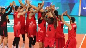 Канада с измъчена победа над Иран в София (видео + снимки)