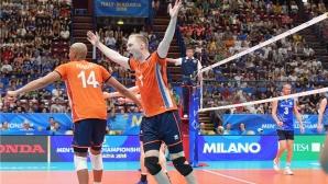 Холандия остава в играта за финалите след победа над Финландия (видео + снимки)