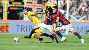 Болоня - Рома 2:0, гледайте на живо тук!