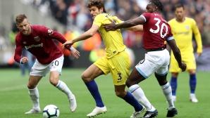 Уест Хам - Челси 0:0 (гледайте на живо)