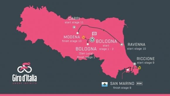 Джиро д'Италия 2019 започва от Болоня