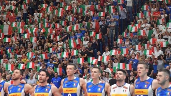 Италия среща Сърбия във втората битка в Торино!  Гледайте мача ТУК!!