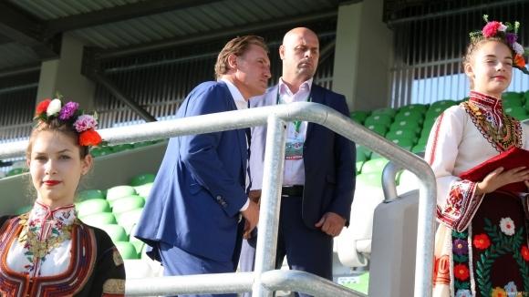 Домусчиев: Конкуренти за титлата на Лудогорец ще бъдат бившият Литекс, Левски и Берое