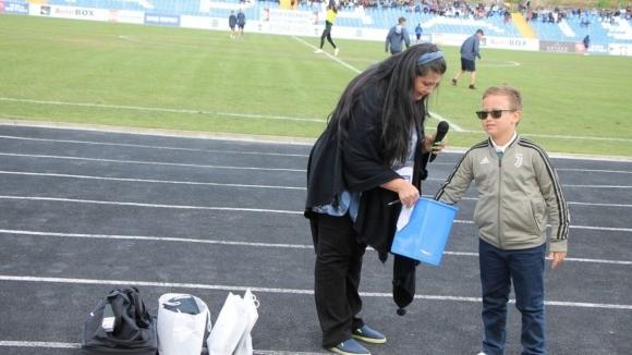 Фенове на Арда си тръгнаха с награди след мача с Черно море