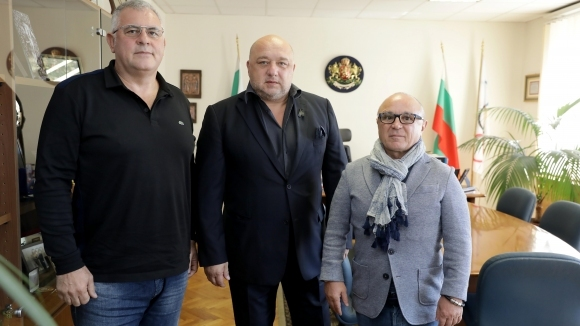 Министър Кралев се срещна с новоизбраните ръководители на БФ джудо Румен Стоилов и Даме Стойков