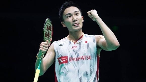 Кенто Момота стана първият японец на върха на световната ранглиста по бадминтон