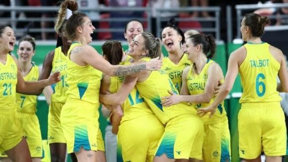Австралия се класира за полуфинал на СП по баскетбол за жени след бой над Китай