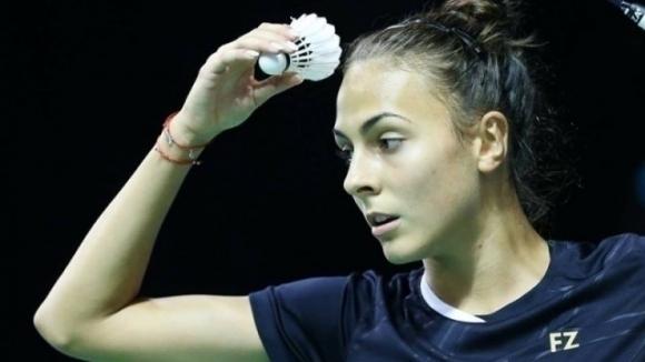 Мария Мицова отпадна във втория кръг на турнирa по бадминтон в Бърно