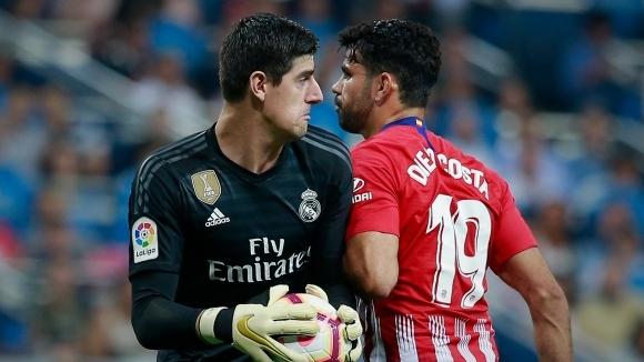 Реал Мадрид и Атлетико не намериха точния удар (видео+галерия)