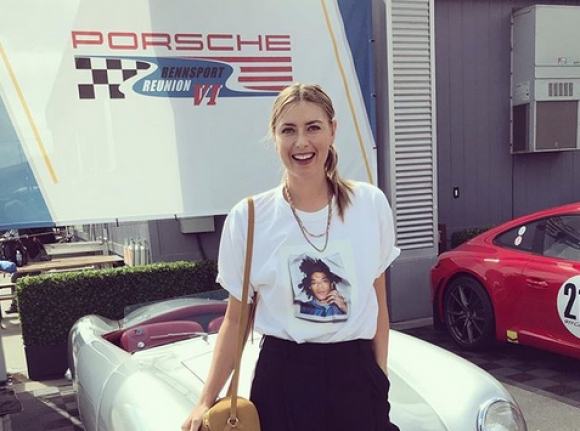 Мария Шарапова подкара уникален трактор... (видео + снимки)