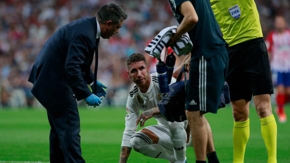 Реал Мадрид без Рамос и още трима в Москва