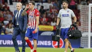 Атлетико ще може да разчита на Хименес срещу Реал Мадрид